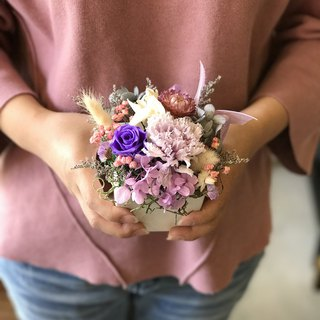 璎珞 Manor*wedding small things*not withered flowers. eternal flower / Gypsophila bouquet / G10 / Valentine's Day bouquet / eternal flower small bouquet / gift bouquet / dry flower / Valentine's Day gift / mother's day flower ceremony