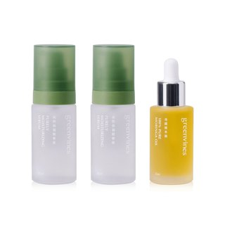 Summer No Emulsion Experiment Group - Pure Moisturizing Essence 1, Miracle Moringa Oil 1