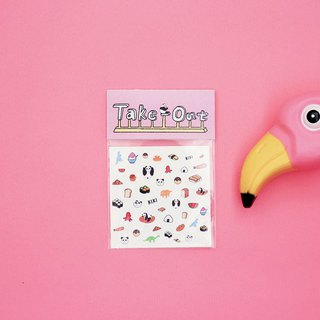 Take out ! KIKI small lucky / nail transfer stickers