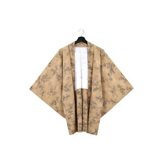 Back to Green :: Japan to bring back the kimono carrots at the end of the feathers / both men and women can wear / / vintage kimono (KC-52)