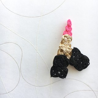 Lipstick -Pink- Brooch/Hair accessory