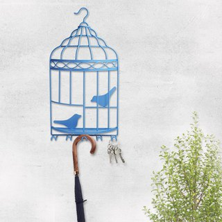 【4U4U】 Home Accessories Wall Hanging - Twin - (Big Bird Cage) Iron Wall Hanger-Belong-