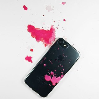 Optima iPhone 8/7 TPU thin protective case splashing pink