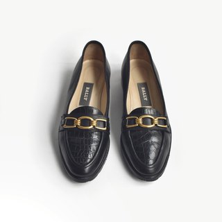 90s Italian Smile Shoes | Bally Loafers US 5.5M EUR 3536