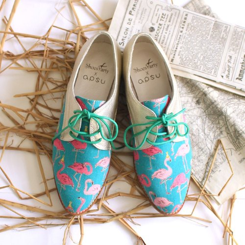Shoes Party long legs and riders Miss cloth cloth shoes / women's shoes / hand-made / Japanese fabrics / M2-17903F