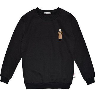 British Fashion Brand -Baker Street- Alpaca's OOTD Printed Sweater