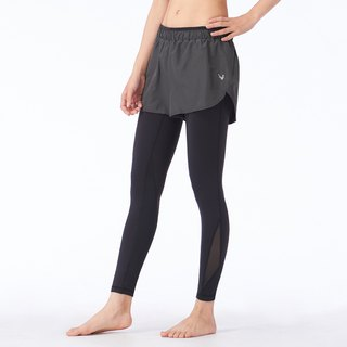 [MACACA] Stage Pressure Difference 2in1 Short Pants - ASG7851 Black/Gray