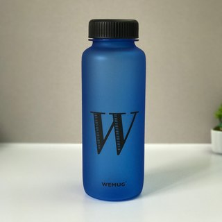 WEMUG USA Material BPA Free Design Water Bottle (Blue/W)
