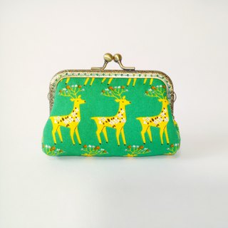 [Kagoshima] gold bag purse clutch