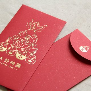 When good chicken - Limited bronzing red envelopes (6 in / bag)