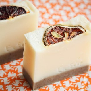 Lemon mint cold soap