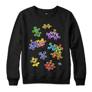 PUZZLE - Black - Neutral University T