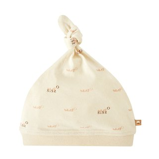 【SISSO organic cotton】 SISSO SISSO soft cotton baby hat