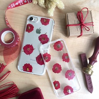 True Love :: Real pressed flower phonecase LG/SONY/IPHONE/SAMSUNG