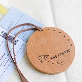 [Memorial Gift] Soul Walking Customized Luggage Tag Hanging Decoration Documents Traveling Abroad