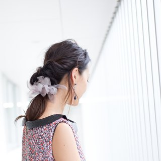 mini || Office || Blooming Sakiami Colourful Hair Scrunchy / Hair Accessory