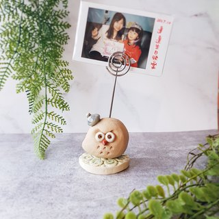 F-12 Owl MEMO folder │Yoshino Eagle x pure hand-made pottery desk small things cute healing photos
