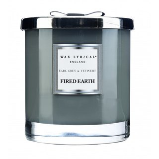 England Candle FIRED EARTH Series Earl Gray tea with incense 2-core candle