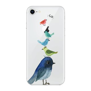 Bird Jenga - Mobile Shell / Drop / Air Shell / Customized Handwriting + Plus