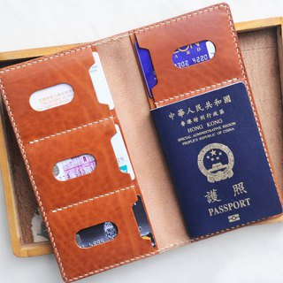 4 双 double ticket holder passport set well stitched leather material package PASSPORT certificate set Italy