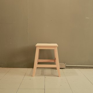 Country style solid wood simple stool chair / display sample special clearance (high chair has been sold)