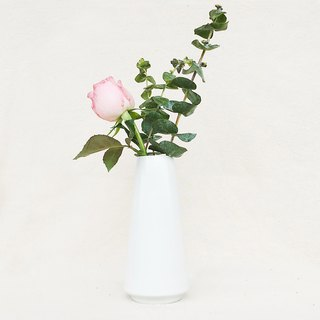 Simple Nordic Flower - Cylinder (White)
