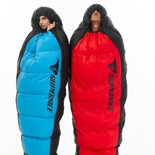 37.5 PERFORMANCE DOWN BLENDS SLEEPING BAG / RED