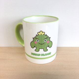 【Plump Planet Friends】Ceramic cup | Cactus Ball