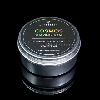 Cosmos Shaving Soap - Canadian Glacial Clay × Vitality Man