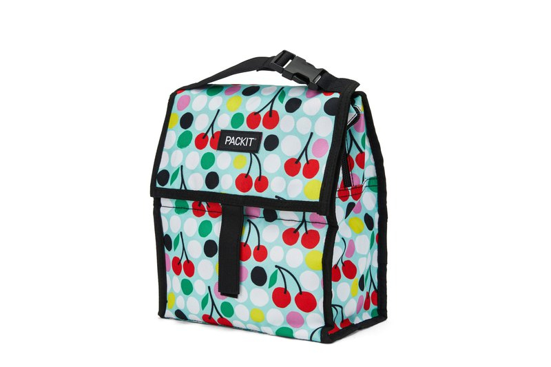 United States [PACKiT] ice cool multi-function cold storage bag (spring  cherry) cold bag / breast milk bag