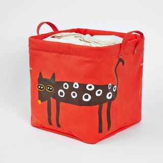 African Bobcats - square color storage bags