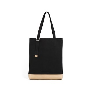 Suede Series-13吋 Fashion Tote Bag - Carbon Black-RTO211BK