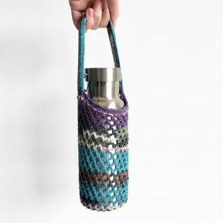 Crochet _ hole drink bag _ paramecium