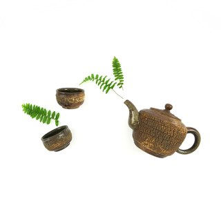 Tim Hing kiln / camphor tree smoke pot - lamp
