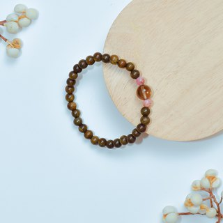 Ran Ran (Bracelet Series) Green Tan (6mm) -- Ankang