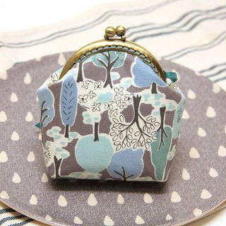 Rolia's hand-made forest small tree mouth gold bag