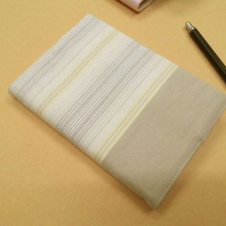 Exquisite A6 cloth book clothing ~ light khaki (single product) B04-025