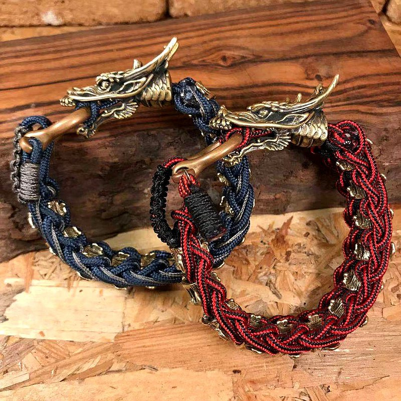 STRING MAN Paracord Paracord Bone Dragon