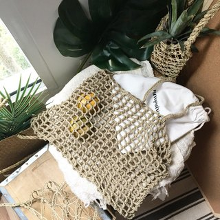 Coffee brown Nagridia Crochet Bag