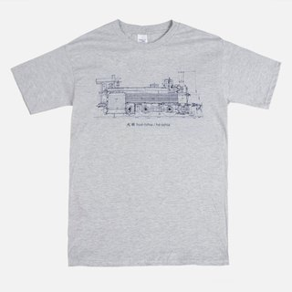 Pre-order T-Shirt - Taiwanese Train 台語火車 hue-tshia / he-tshia