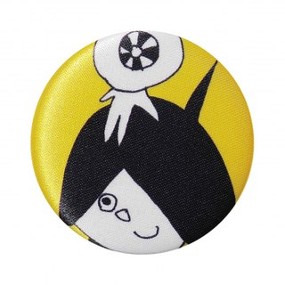 [Japan SDL] Japan Ghostaroo Patterned Fabric Badge / Brooch / Accessories Pin