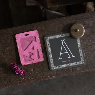 Alphabet Card Holder。Luggage Tag Version A-G