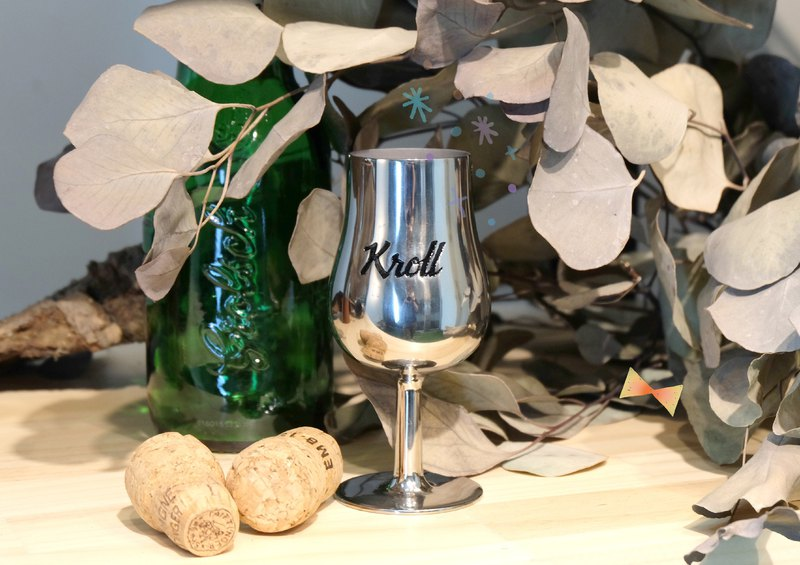 New listing discount ~ [KROLL] Titanium Scented Glass Whisky Tasting Mug