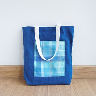 Keb Reab Canvas Tote Bag - Fresh Blue