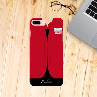 Cathay Dragon Airlines Air Hostess Fight Attendant Red iPhone Samsung Case