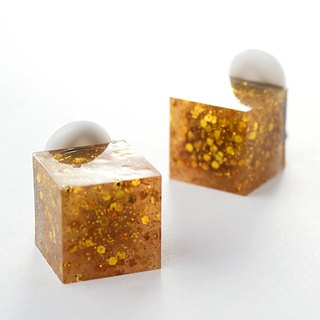 Cube Earrings (Forty Niner)