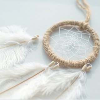 Dream Catcher Kit - Facing the Mist Forest, Early Autumn (Hemp) - Hand made diy gift