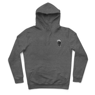 Infection - heather gray - Hooded T-shirt
