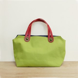 Palette picnic bag lunch bag Japanese put Japanese wine bag cloth 8 canvas green green + red + dark blue