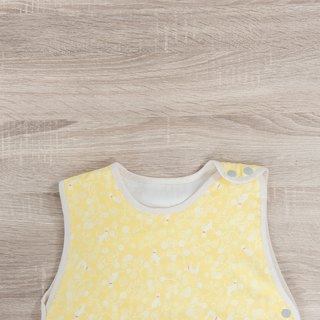 Non-staining non-toxic six-gauze anti-kidding - Cat under sunlight (3y6m-7y) baby vest
